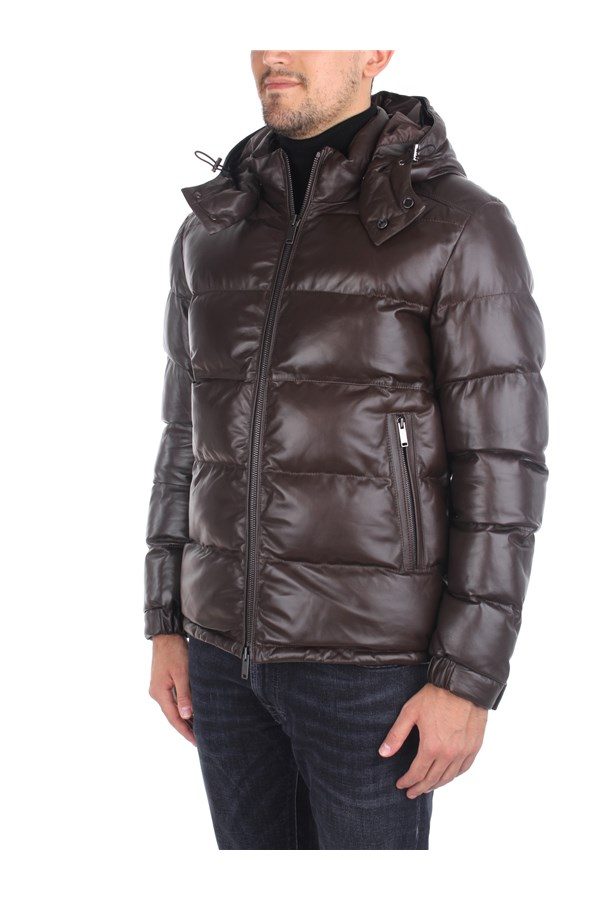 Desa Leather Jackets Brown