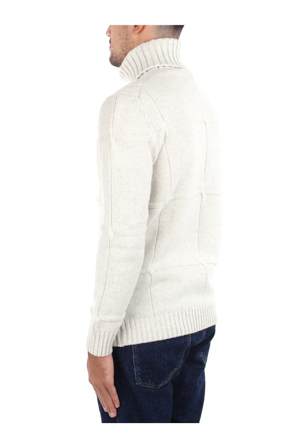 H953 Knitwear High Neck  Man HS2989 3