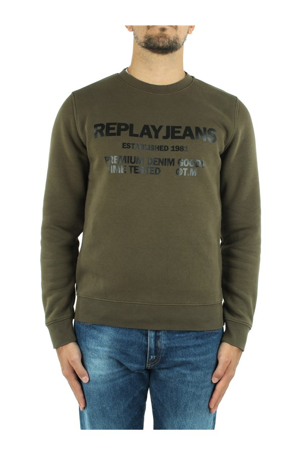 Replay Sweatshirts Green