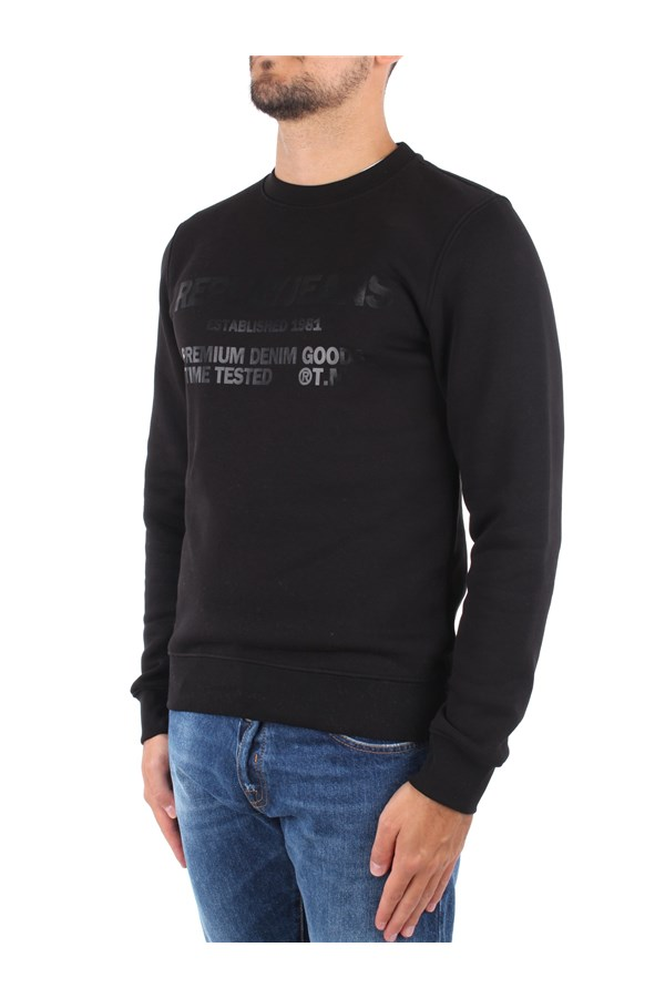 Replay Sweatshirts Black