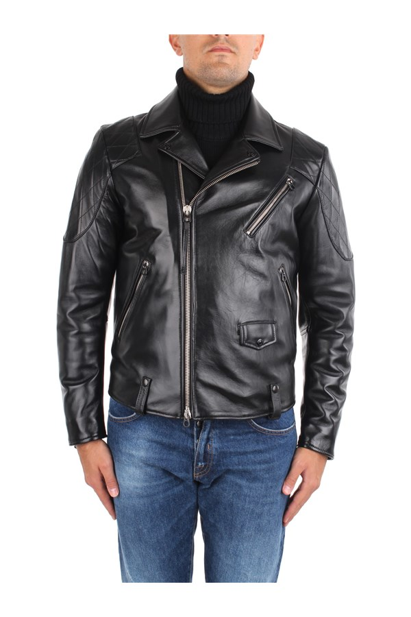 Replay Leather Jackets Black