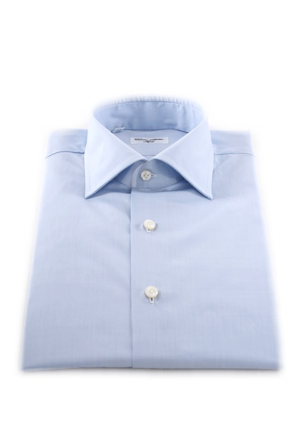Cesare Attolini Shirts Turquoise