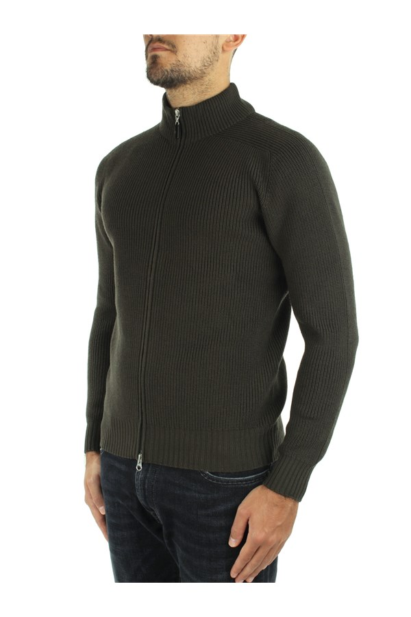 Barba Cardigan Green