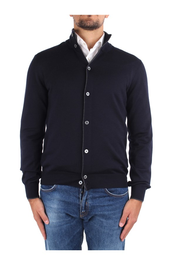 Barba Sweaters 14266 55560 Blue