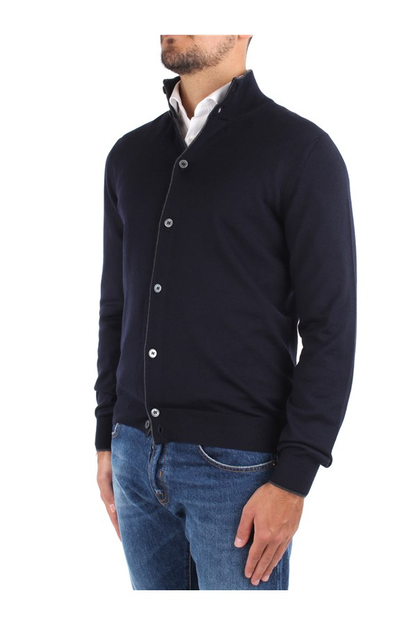 Barba Sweaters Blue
