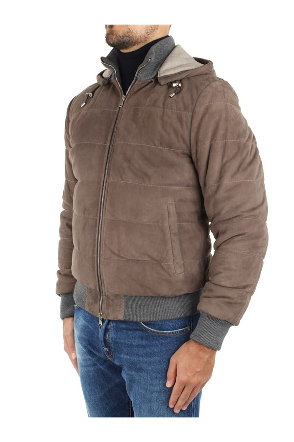 Barba Jackets And Jackets Beige