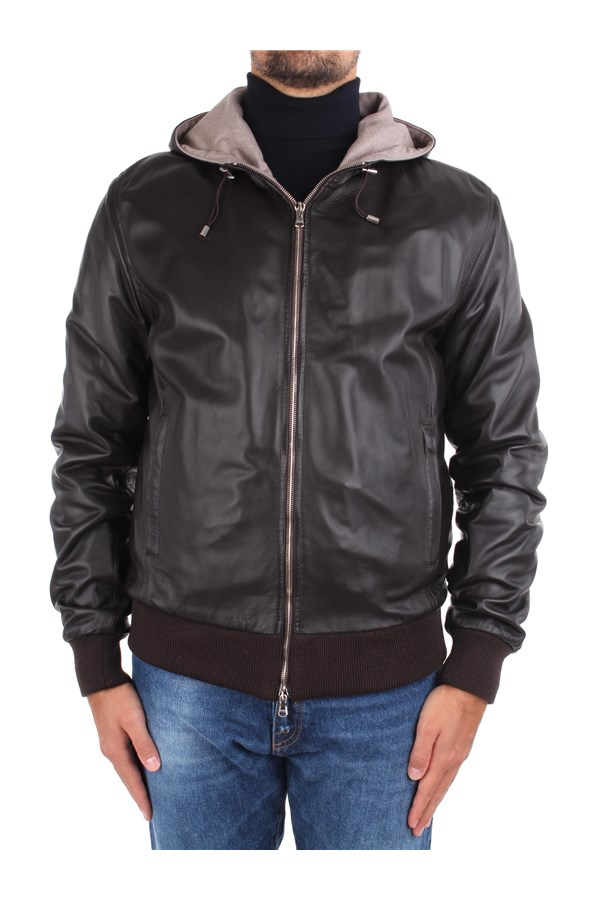 Barba Jackets And Jackets Brown