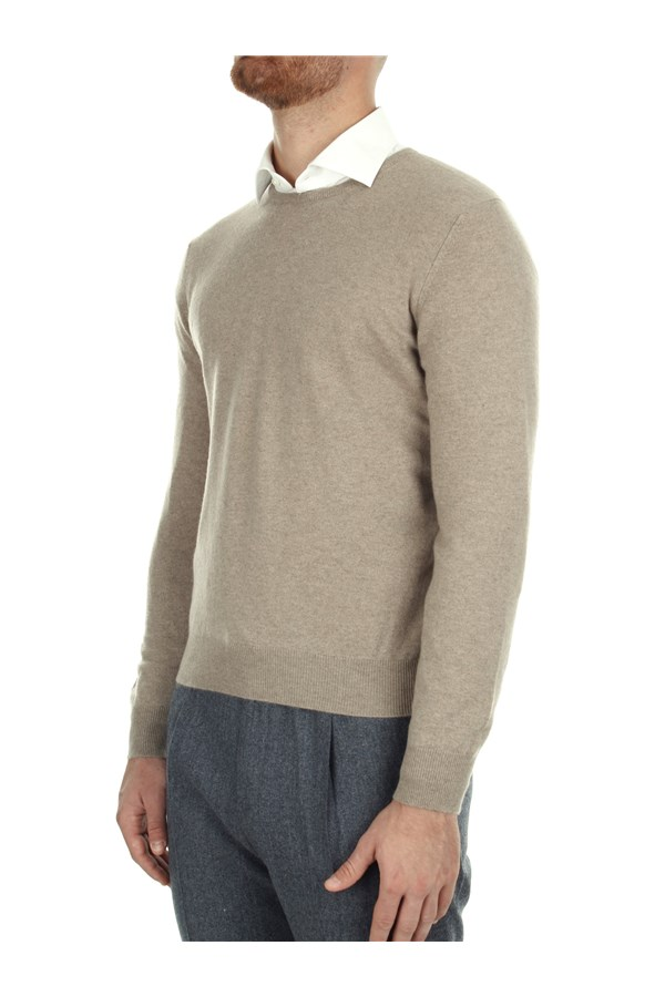 Barba Sweaters Beige