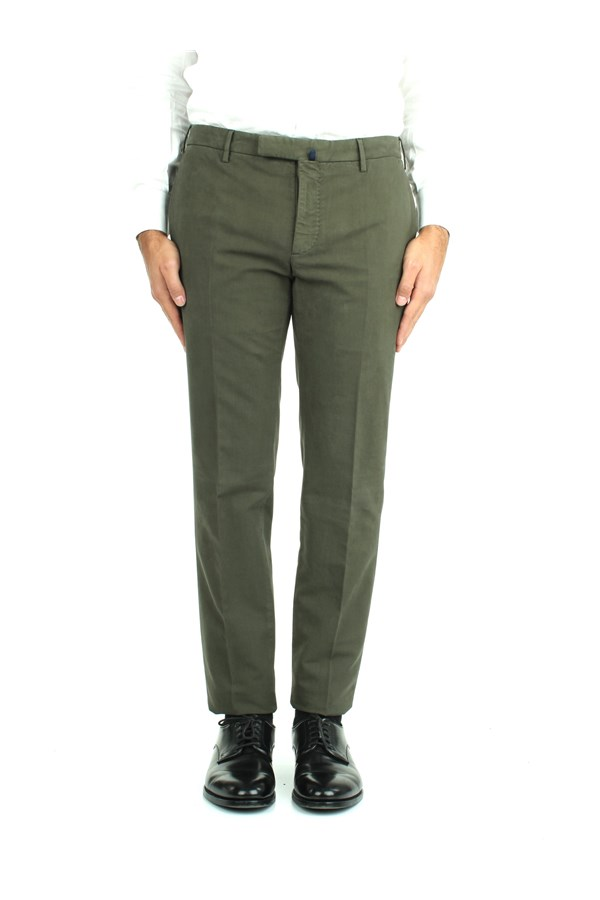 Incotex Trousers Green