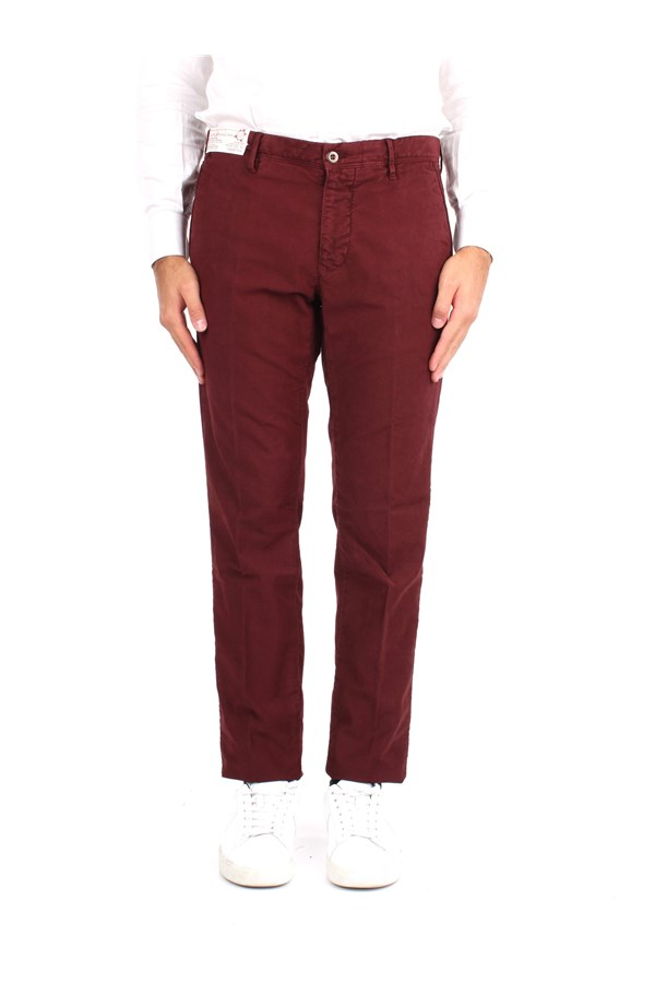Incotex Trousers Red