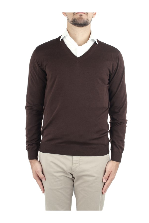 Zanone Sweaters Brown