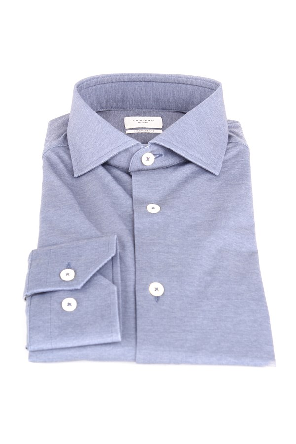 Traiano Shirts Blue