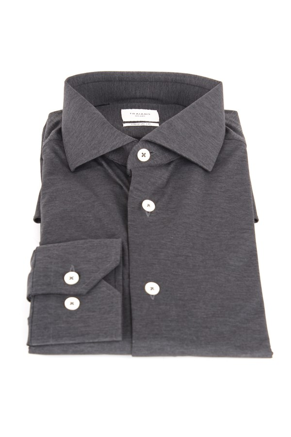 Traiano Shirts Grey