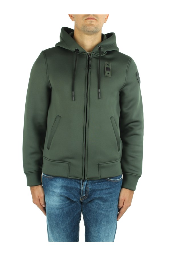 Blauer Sweatshirts Green