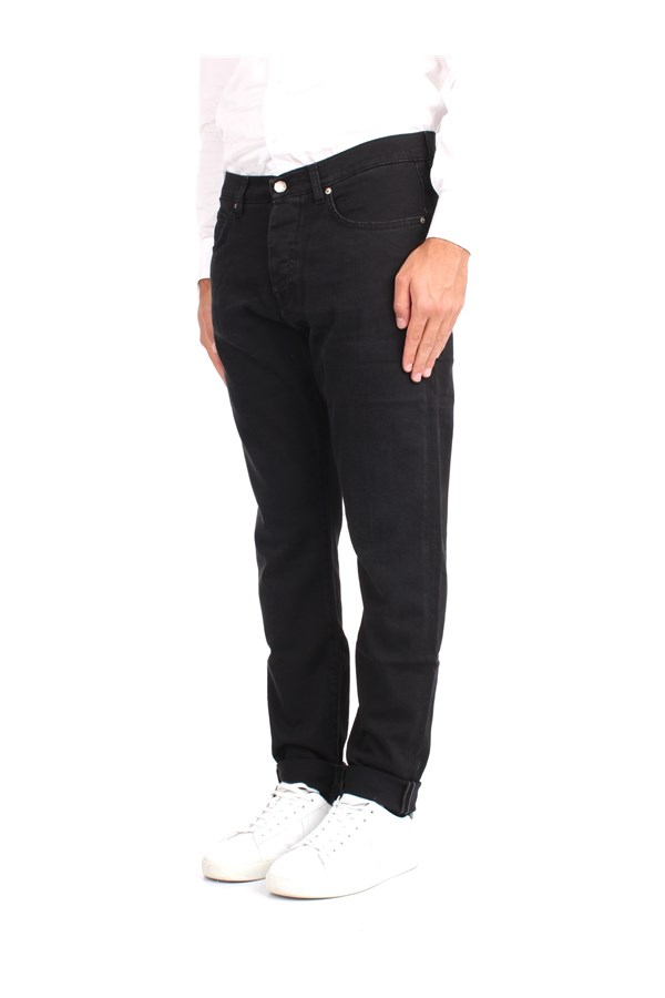 Two Men Jeans Black