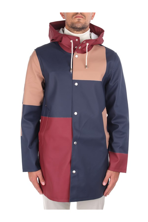 Stutterheim raincoats Red