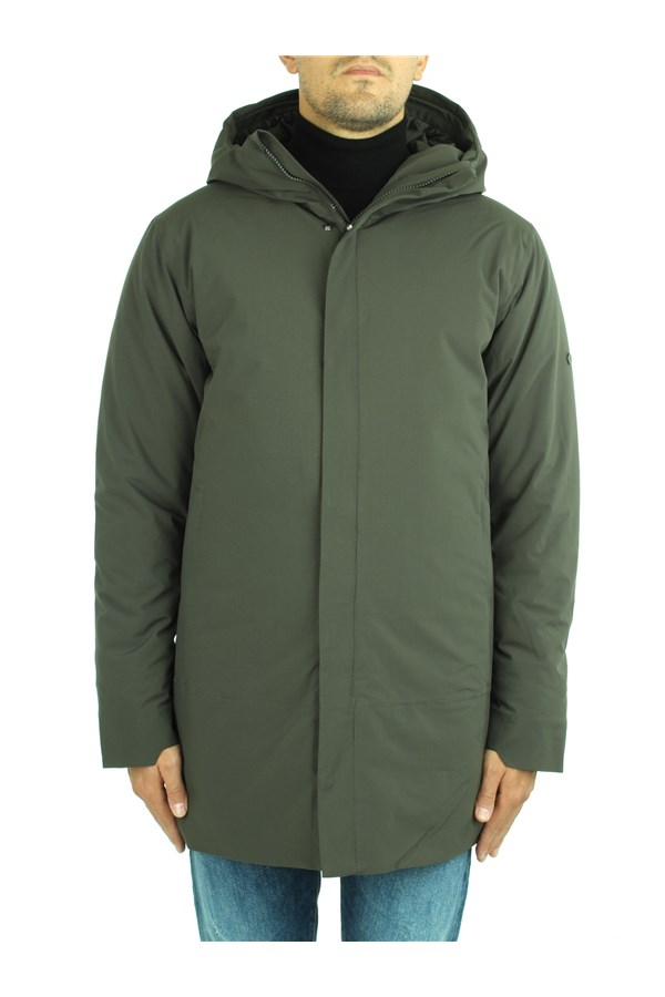 Scandinavian Edition Jackets Green