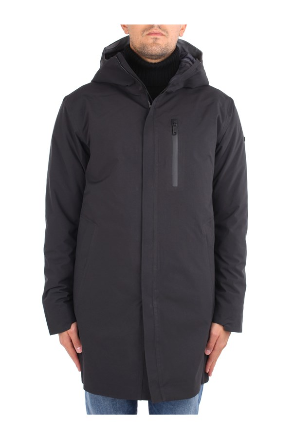 Scandinavian Edition Jackets Black