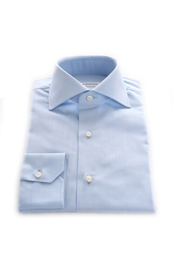 Pietro Provenzale Shirts Turquoise