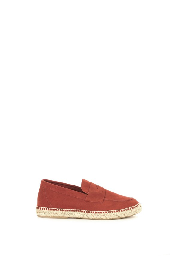 Abarca Loafers Red