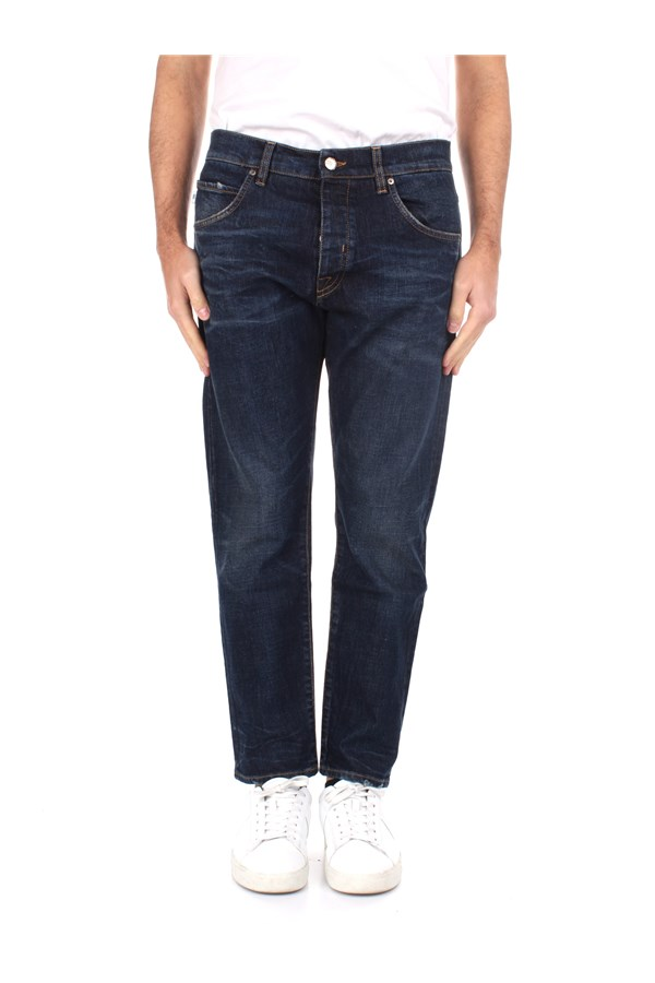 Two Men Slim Blue