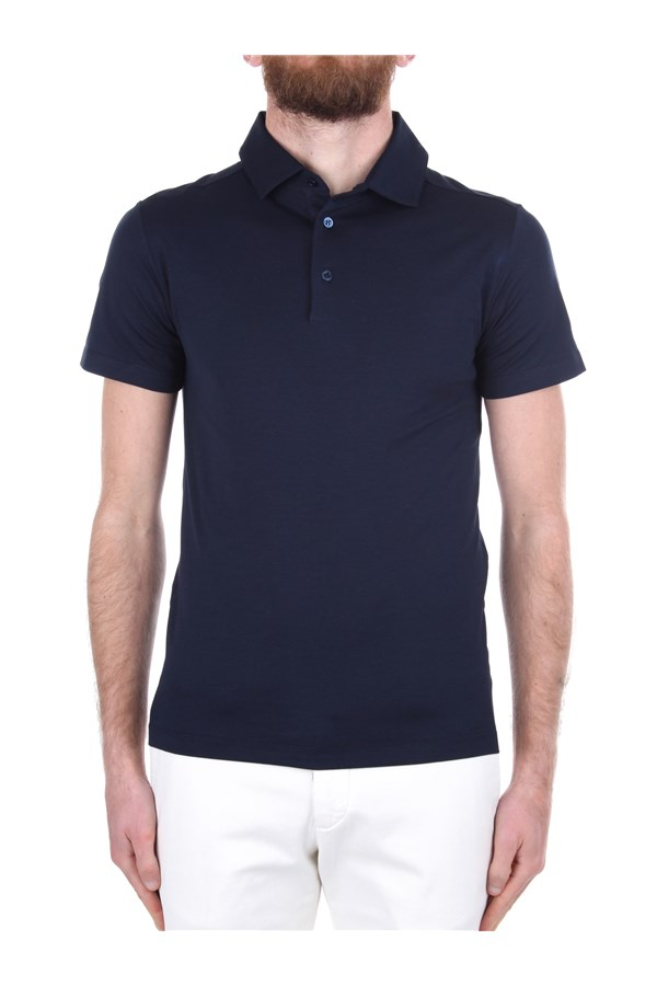 Cruciani Short sleeves Blue