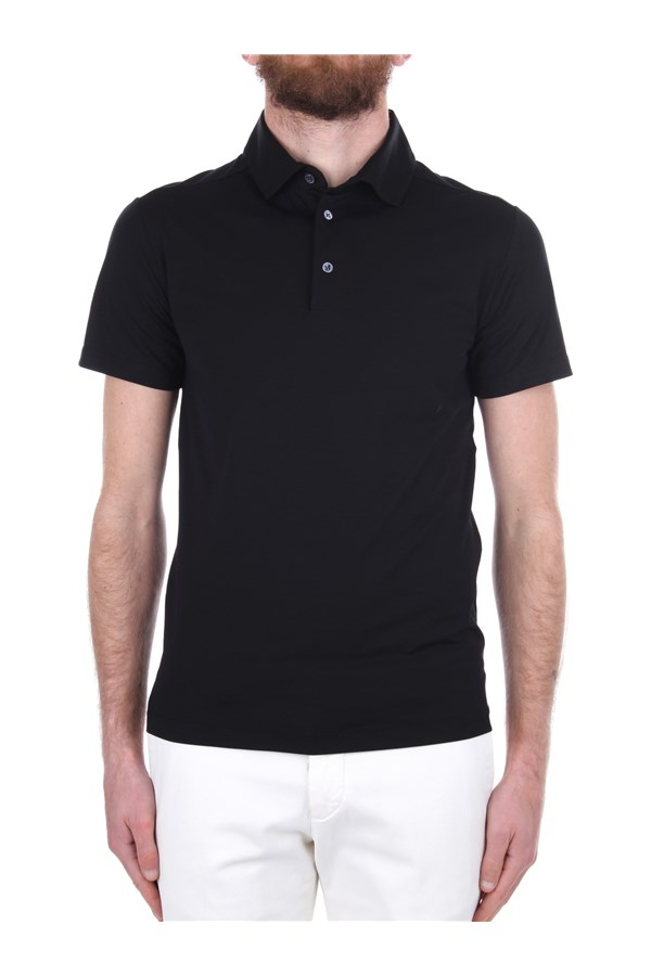Cruciani Short sleeves Black