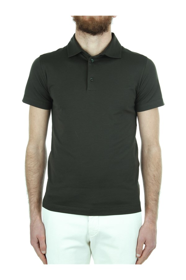 Cruciani Short sleeves Green
