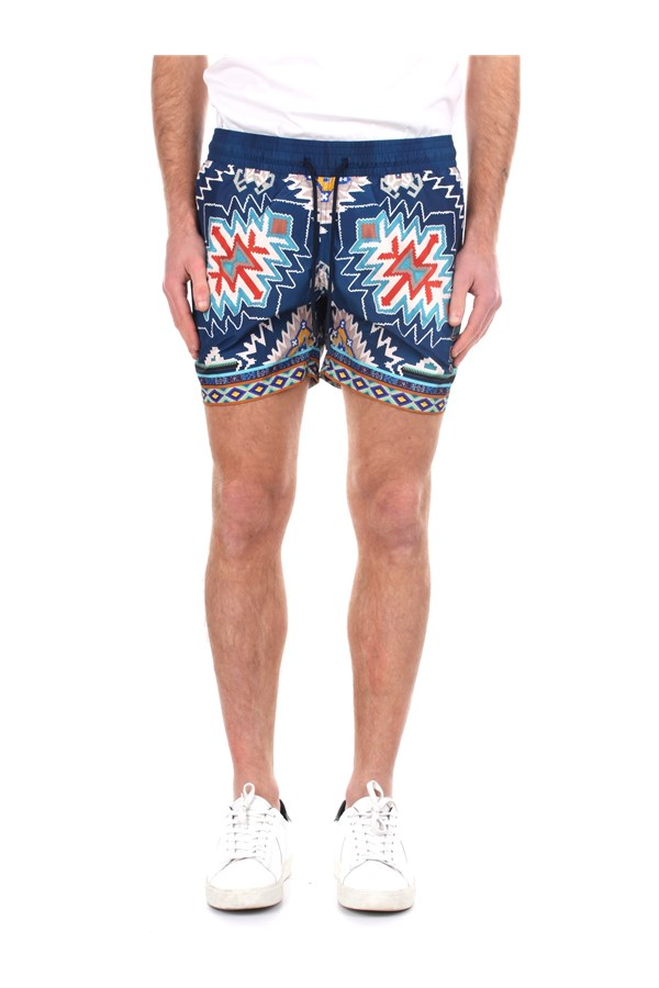 Etro Sea shorts Multicolor