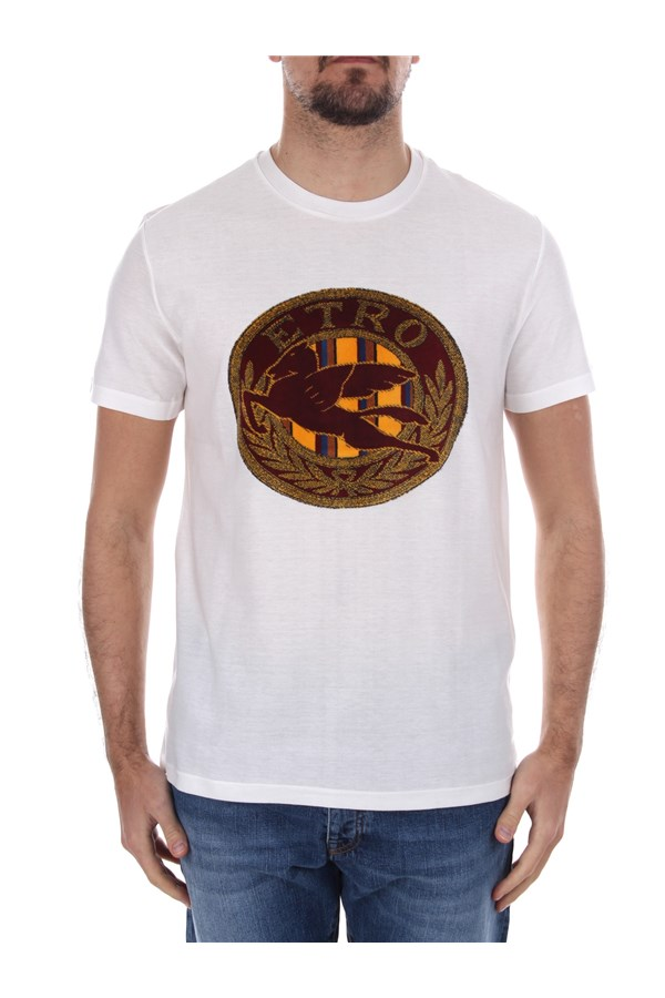 Etro Short sleeve White