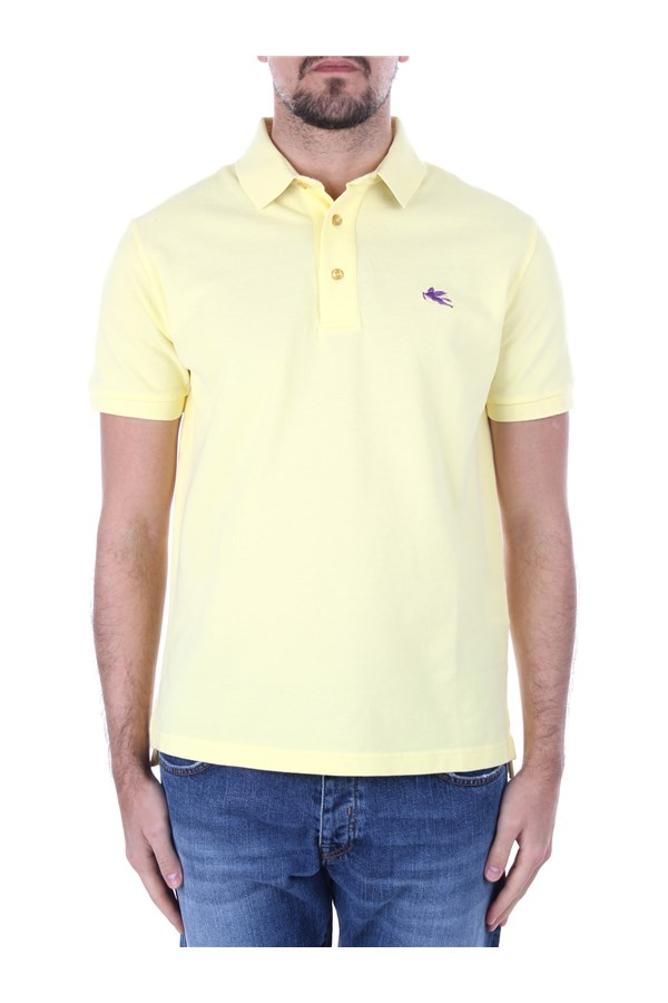 Etro Short sleeves 1Y140 9870 Yellow