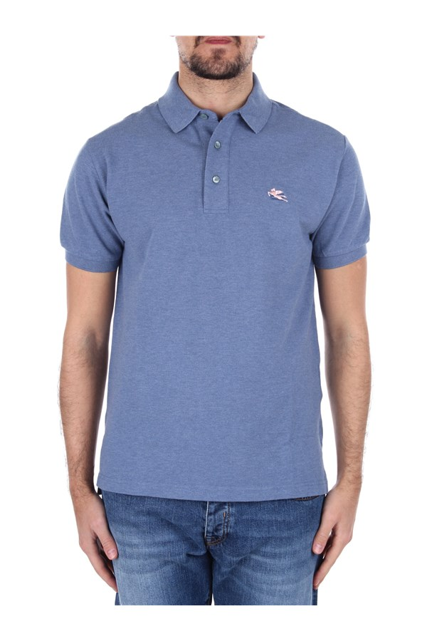 Etro Short sleeves Blue