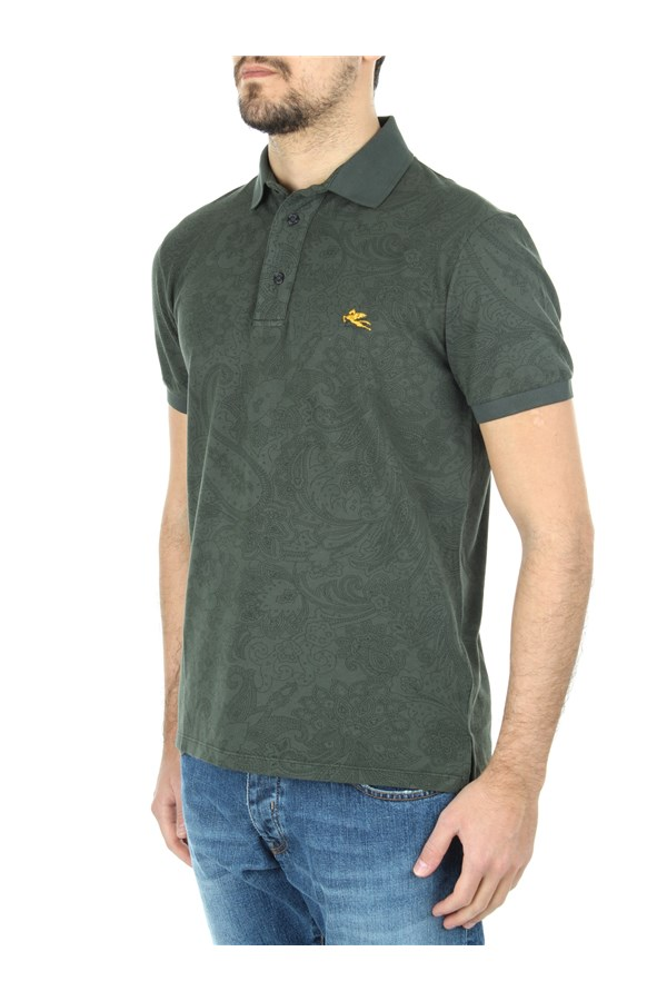 Etro Short sleeves Green