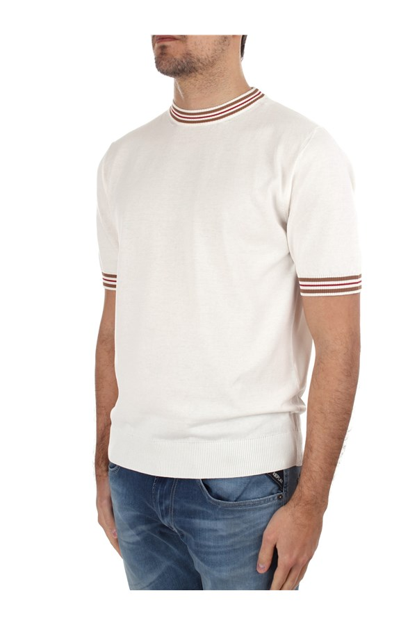 Eleventy Short sleeve White