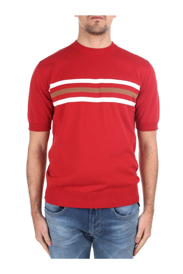 Eleventy Short sleeve Red