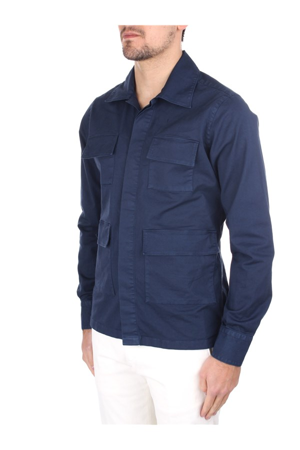 Eleventy Casual Blue