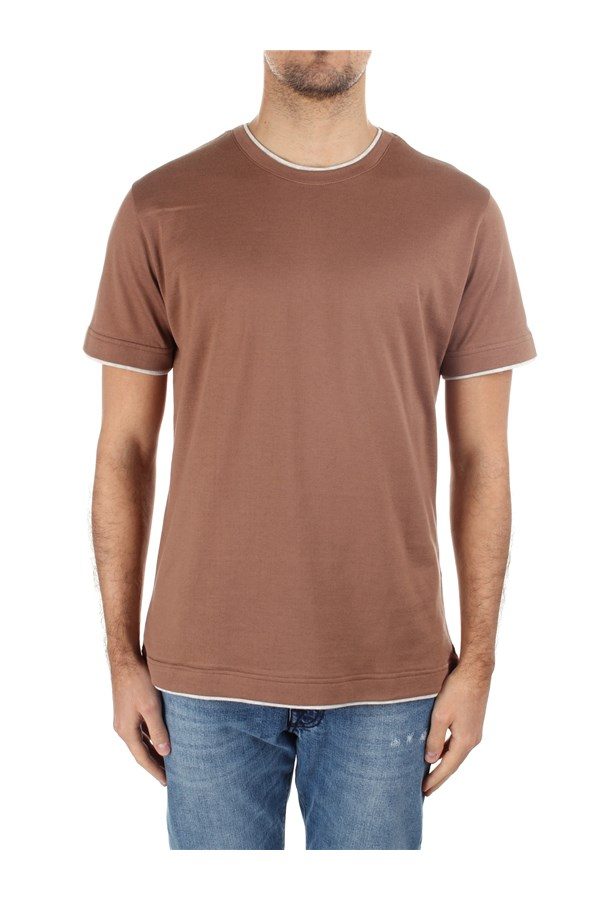 Eleventy Short sleeve C75TSHC11 TES0C174 Brown