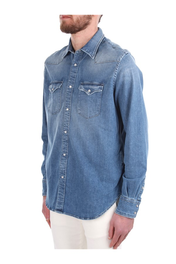 Eleventy Denim Blue