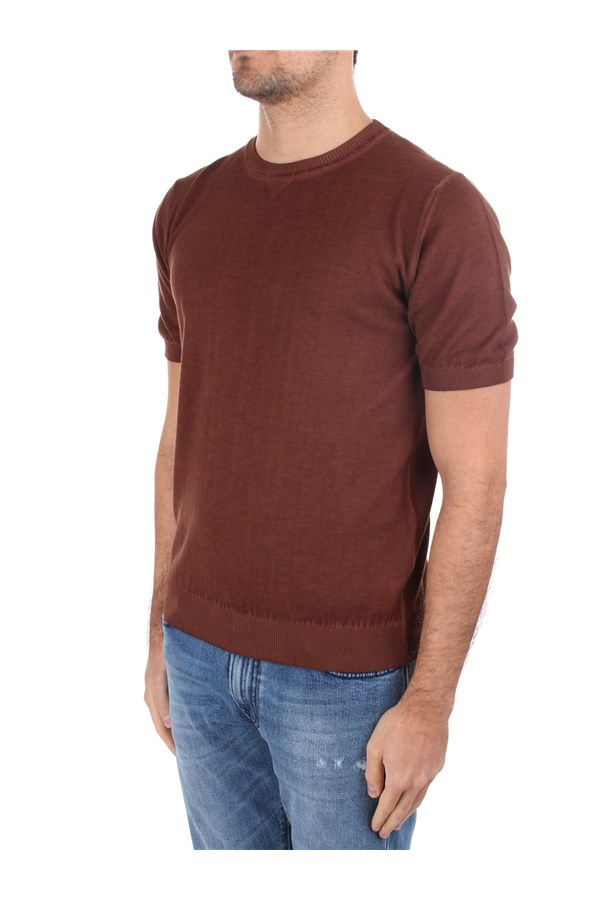 Eleventy Short sleeve Brown