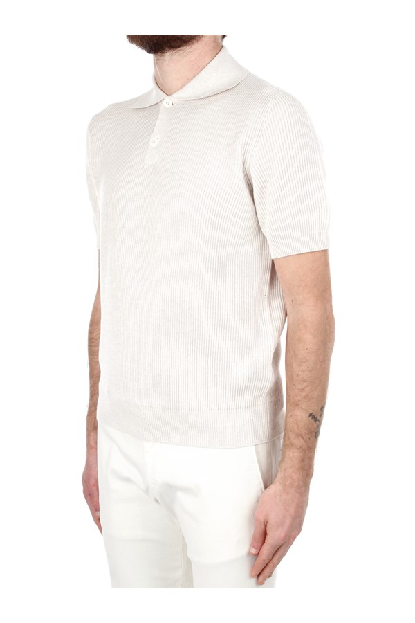 Brunello Cucinelli Short sleeves Beige