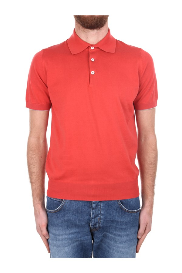 Brunello Cucinelli Short sleeves Red