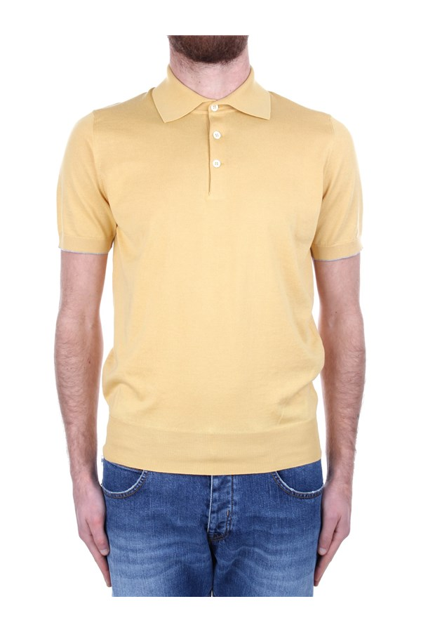 Brunello Cucinelli Short sleeves Yellow