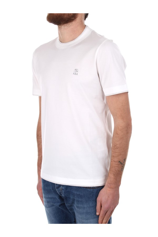 Brunello Cucinelli Short sleeve White