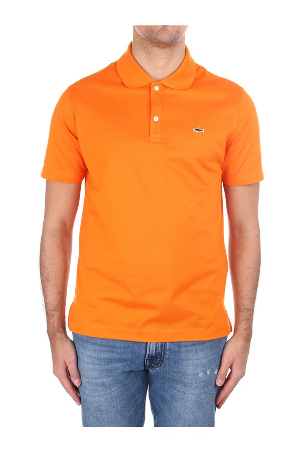 Paul & Shark Short sleeves C0P1013 Orange