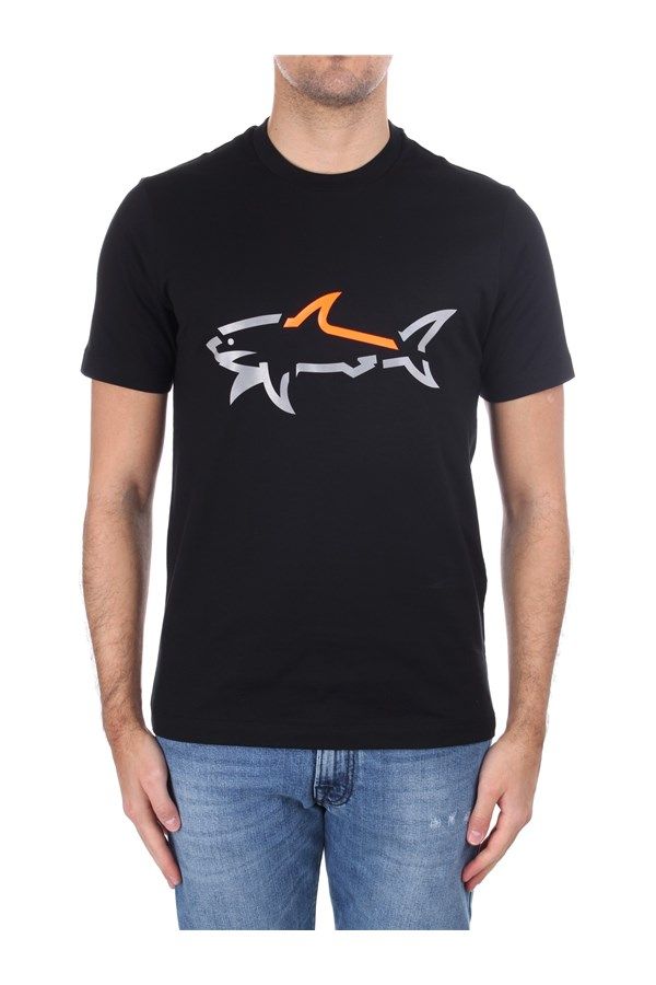 Paul & Shark Short sleeve Black