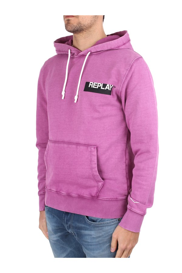Replay Sweatshirts Hoodies Man M3337 000 22738G 1