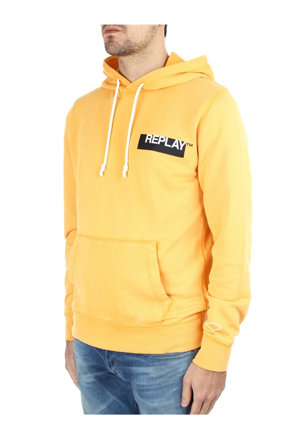 Replay Hoodies Orange