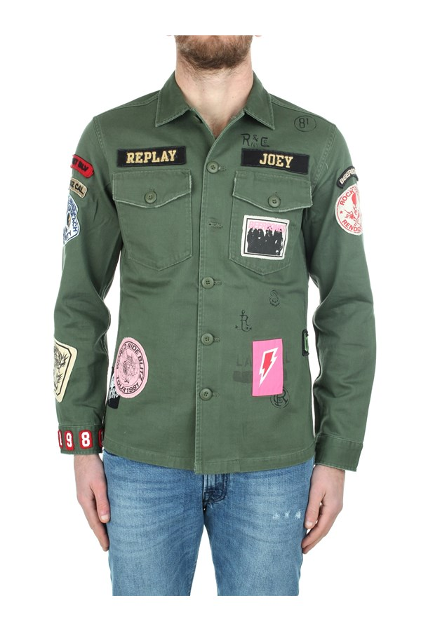Replay Outerwear Jackets Man M8825E 000 84024 438 0