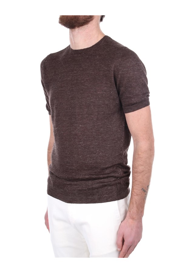 La Fileria Short sleeve Brown