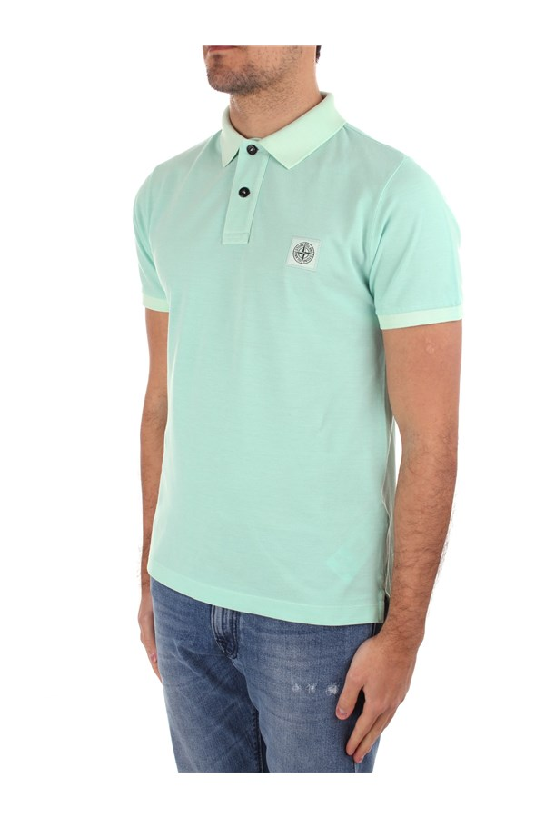 Stone Island Polo shirt Short sleeves Man MO741522S67 1